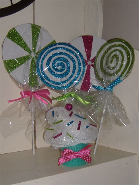 faux giant candies  deco mesh cupcake  demod today