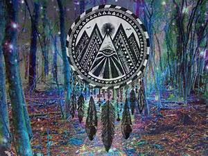art trippy hippie weed marijuana smoke cannabis kush pot ...