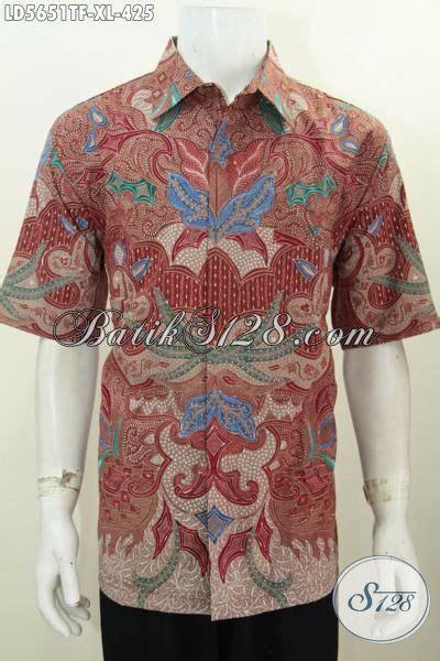 baju kemeja batik buatan indonesia untuk kerja