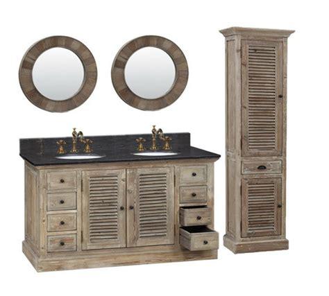 rustic double sink vanity legion 60 inch double sink rustic bathroom vanity wk1960