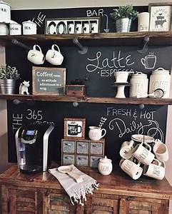 Cafe Bar Zuhause : image result for how to display coffee area at home ~ Watch28wear.com Haus und Dekorationen