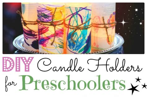 diy luminaries  candle holders red ted art
