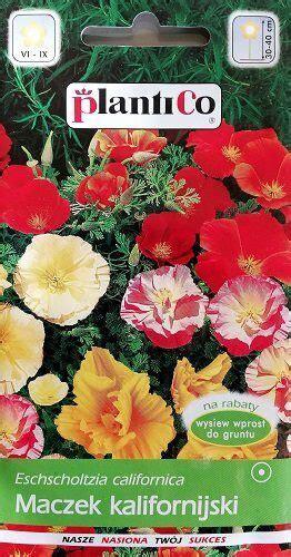 Kalifornijas ešolcija MIX 1 g Plantico - Viengadīgās puķes ...