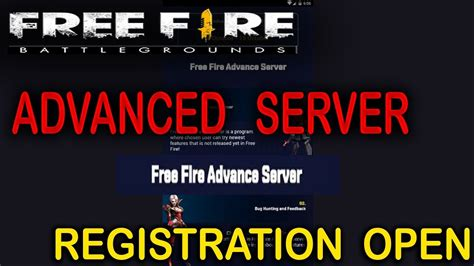 Umpty entertainment purposes do launch all day. How to Register Free Fire Advanced Server / Advance Server ...
