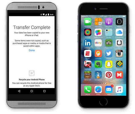 apple releases move to ios app for android nope apple is not working to help users move from ios to