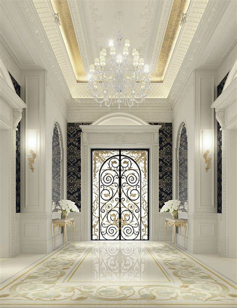 interior design of luxury homes luxury interior design for an entrance lobby by ions