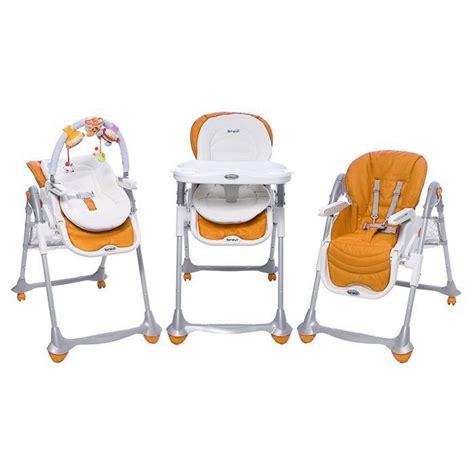 chaise haute des la naissance brevi chaise b 3en1 orange orange achat vente chaise haute brevi chaise b orange