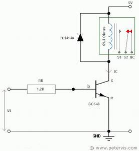 Transistor as a switch for relay for Relay as switch