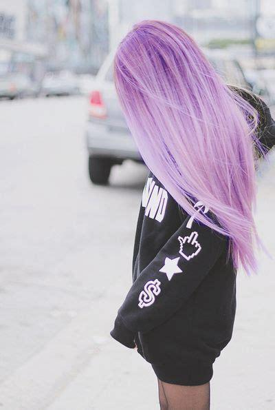 Light Purple Hair On Tumblr