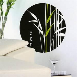 Bambou Noir Prix : sticker zen bambou noir ~ Teatrodelosmanantiales.com Idées de Décoration