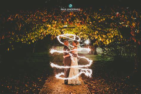 creative wedding photography fun  sparklers