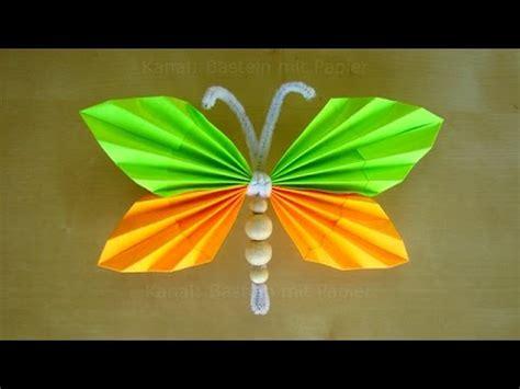 basteln mit kindern mit papier schmetterlinge basteln mit papier tiere basteln basteln ideen diy geschenke
