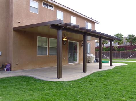 Solid Wood Patio Cover Kits by Southern California Patios Solid Patio Cover Gallery 2