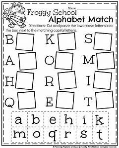 Back to school kindergarten worksheets kindergarten for Letter games for preschool free