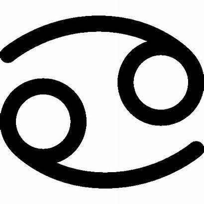 Cancer Astrology Zodiac Icon Horoscope Icons Astrological