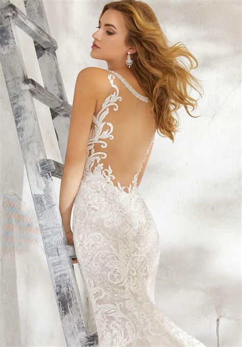 leilah wedding dress style  morilee