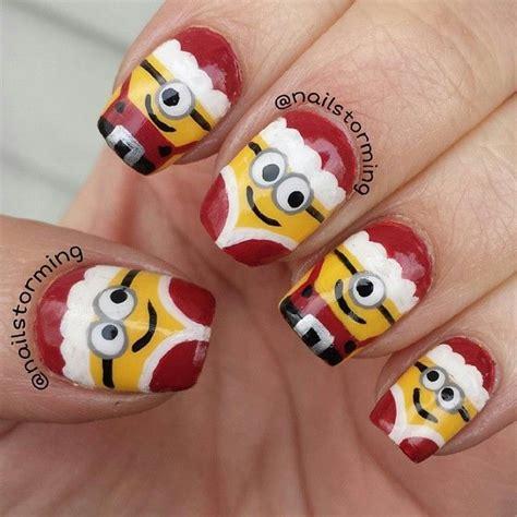 stylish christmas nail art