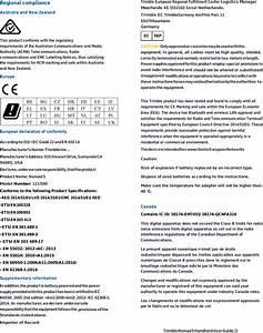 Trimble Qcnfa324 2x2 802 11a  B  G  N  Ac Wifi Bluetooth