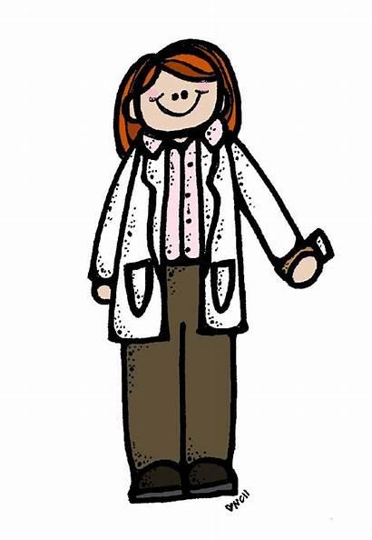 Clipart Melonheadz Pharmacist Clip Doctor Library Funny