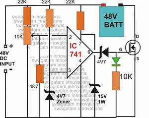 Make This 48v Automatic Battery Charger Circuit