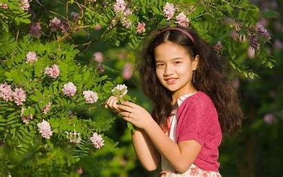 Child Wallpapers Nature Mood Devochka Background Px