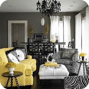 Decorating With Yellow and Gray