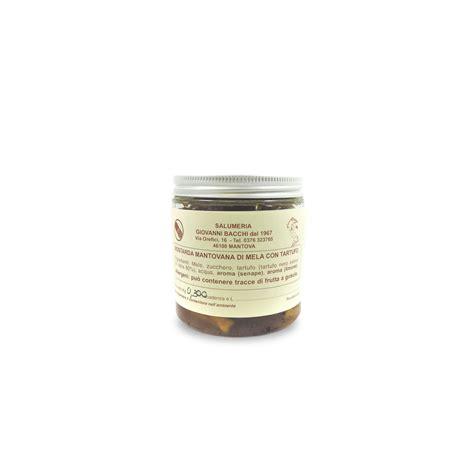 Mostarda Mantovana mostarda mantovana di mela con tartufo salumeria bacchi