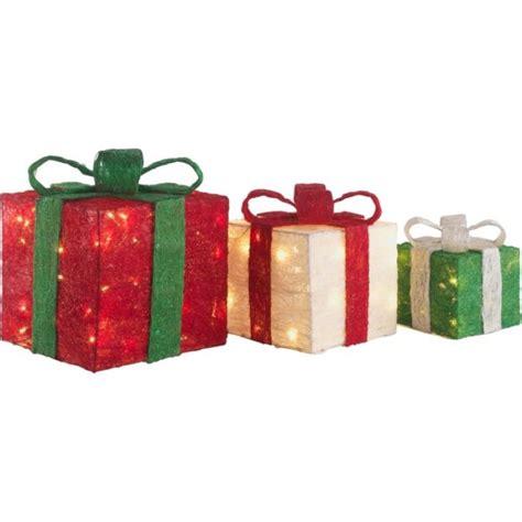 light up gift boxes set of 3 light up christmas gift boxes christmas novelty
