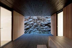 Wandverkleidung Holz Innen : ein minimalistisches eingeschossiges haus mit viel holz ~ Michelbontemps.com Haus und Dekorationen
