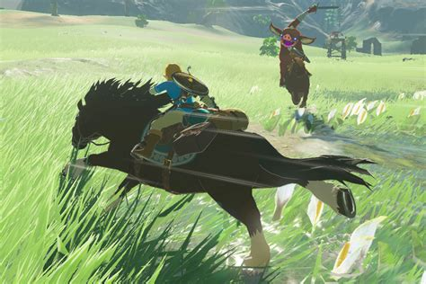 zelda horse wild breath legend mounts botw horses taming mountain lord guide nintendo