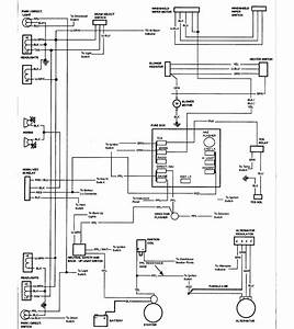 1971 Chevrolet El Camino Wiring Diagram Part 2  61785