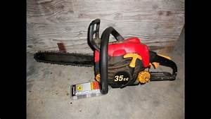 Replace A Chainsaw Blade Homelite 14 U0026quot  Chainsaw 52 Link