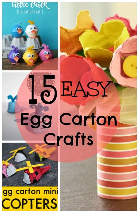 egg carton crafts tgif  grandma  fun