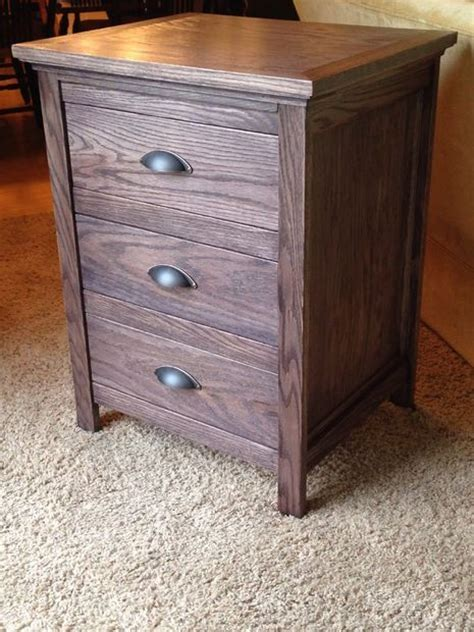 Nightstand Plans Free by Stand With Locking Secret Drawer In Home