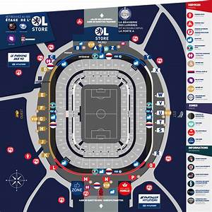 Parking P5 Lyon : acc s infos pratiques groupama stadium ~ Medecine-chirurgie-esthetiques.com Avis de Voitures