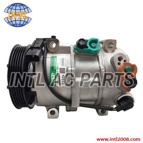 dve auto air conditioning car ac compressor  hyundai
