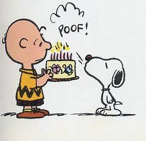 Courtney and the Blogosaurus: Happy Birthday, Charlie Brown!