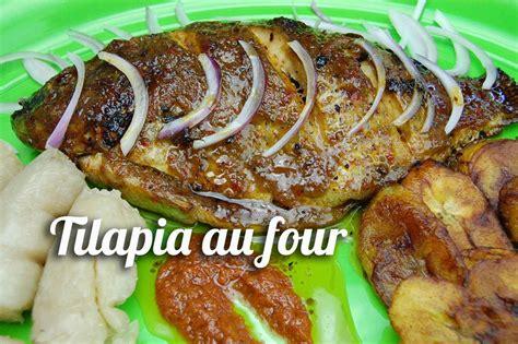 recette cuisine four recette de tilapia au four