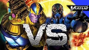 Darkseid VS Thanos: Epic Battle! - YouTube