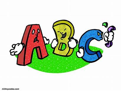 Animated Letters Alphabet Animation Clipart Moving English