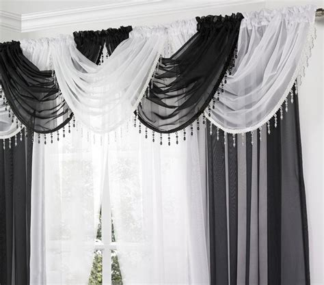 cheap waterfall valance curtains waterfall valance