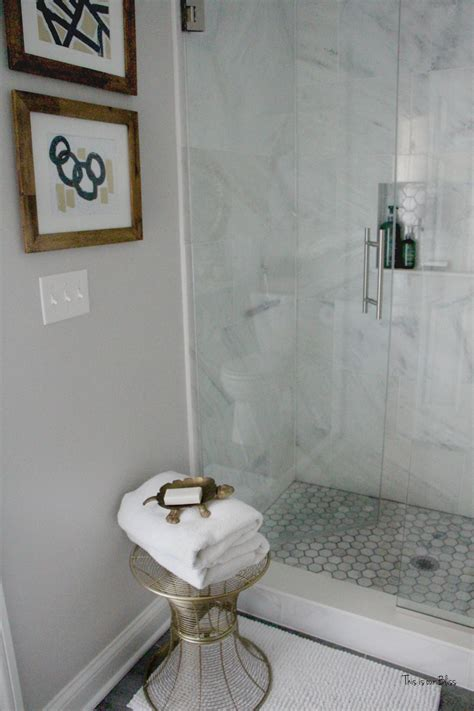Neutral Bathroom Decor by How To Create A Neutral Glam Basement Bathroom This Is