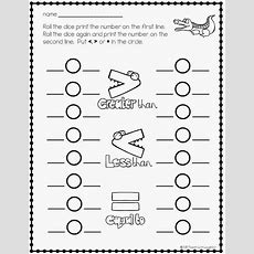 Free Greater Than Or Less Than Worksheets  Math For K1  Pinterest  Math, Worksheets And Free