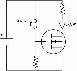 File Mosfet N-ch Circuit Svg