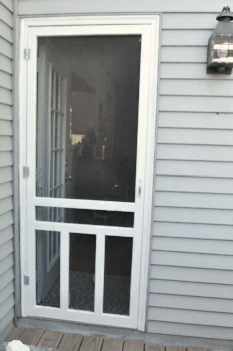 install sliding screen door how to install a screen door hometalk