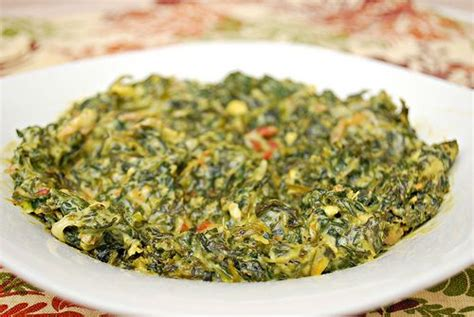 Creamed Spinach with Bacon
