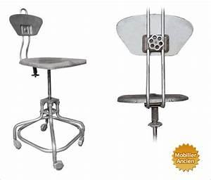 Chaise Haute Metal : chaise d atelier ~ Teatrodelosmanantiales.com Idées de Décoration