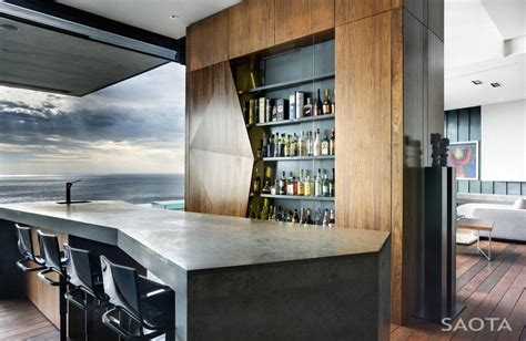 Modern Home Mini Bar Ideas by Modern Mini Bar Interior Nettleton 195 House By Saota And
