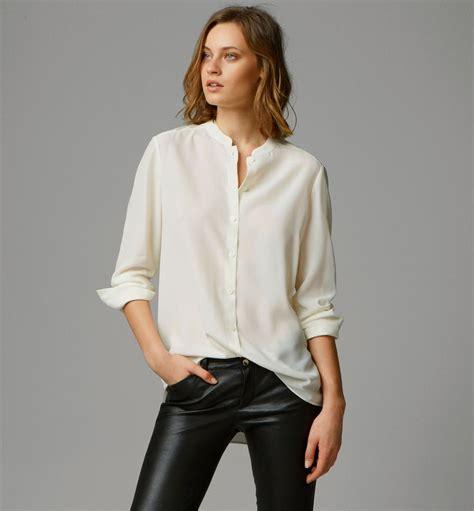 mandarin collar blouse mandarin collar shirt view all shirts blouses