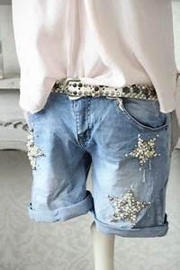 Jeans Mit Strass Und Perlen : edle jeansjacke mit perlen und strass mode pinterest jeans outfit ideen und perlen ~ Frokenaadalensverden.com Haus und Dekorationen